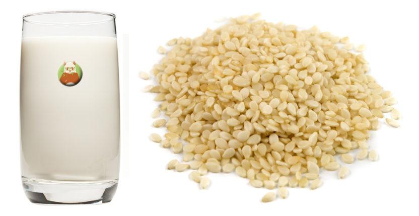 Bebida de semilla de sésamo - Bebida vegetal de semilla